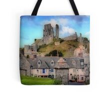 High & Mighty Tote Bag