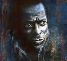 miles davis  by cliffwarner