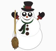 Snowman One Piece - Long Sleeve