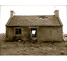 old, empty and weathered Photographic Print