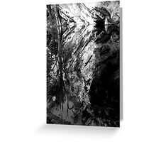 Abercrombie Caves.2 Greeting Card