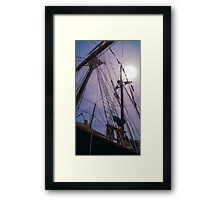 Tall Ship Toronto Framed Print