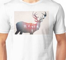 Deer & Bird Unisex T-Shirt