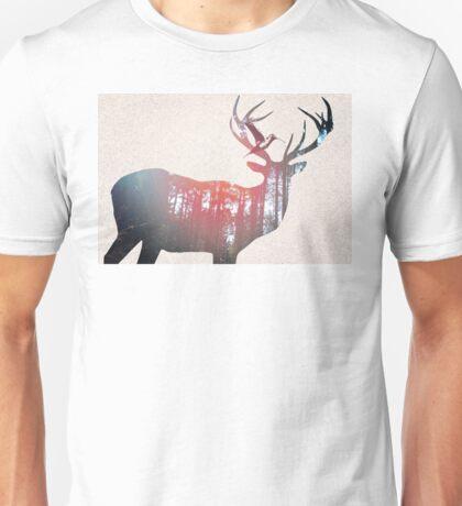 Deer & Bird Unisex T-Shirt