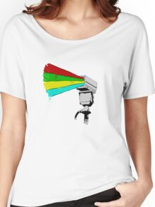 Colourful Surveillance Women's Relaxed Fit T-Shirt