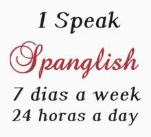 I SPEAK SPANGLISH  Kids Clothes