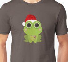 Christmas Frog Unisex T-Shirt