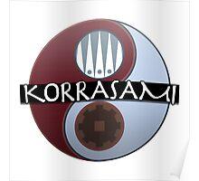KorrAsami - Balance (Text) Poster