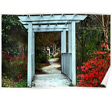 Enchanting Cypress Gardens Poster