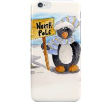The North Pole iPhone Case/Skin
