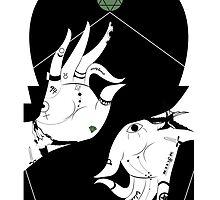Green Chakra Tattoo Hands by WARansdell