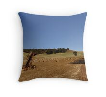 Wheatbelt scene  Throw Pillow