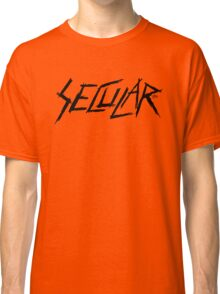 Secularism Rocks! by Tai's Tees Classic T-Shirt