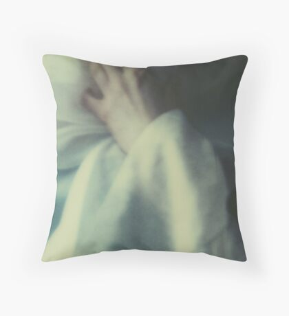 untitled instance of light Throw Pillow