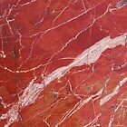 Red marble stone by mikath