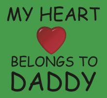 MY HEART BELONGS TO DADDY Baby Tee