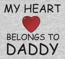 MY HEART BELONGS TO DADDY One Piece - Short Sleeve