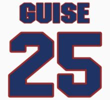 National baseball player Lefty Guise jersey 25 by imsport
