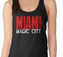 Miami Magic City 305 Wynwood South Beach Women's Tank Top