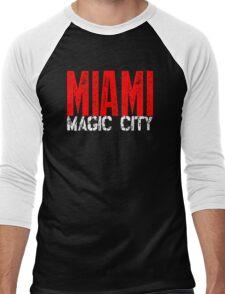 Miami Magic City 305 Wynwood South Beach Men's Baseball ¾ T-Shirt