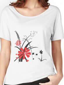 Spot of Red Women's Relaxed Fit T-Shirt
