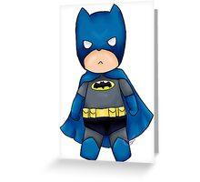 Chibi DC Comics Batman Greeting Card