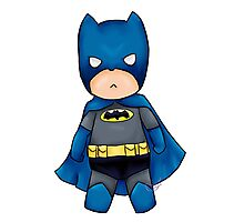 Chibi DC Comics Batman Photographic Print