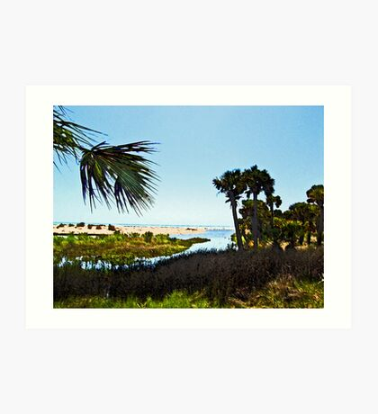 """The Mouth of """"Money Bayou"""" Art Print"""