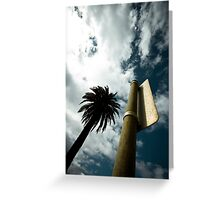 """Palm tree (from the """"We win"""" series) Greeting Card"""