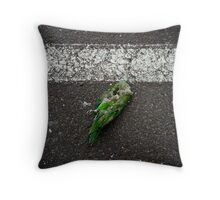 "Bird (from the ""We win"" series) Throw Pillow"
