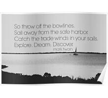 Mark Twain Explore Poster