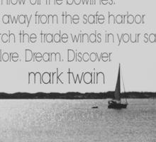 Mark Twain Explore Sticker