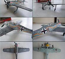 Focke wulf 190 A8 by warrior1944