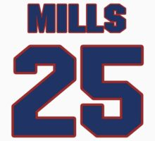 National baseball player Lefty Mills jersey 25 by imsport
