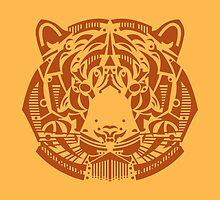 tiger by Hinterlund