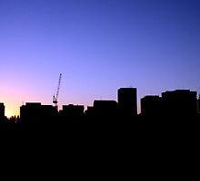 Adelaide Skyline by Belinda Stewart