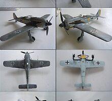 Focke Wulf 190 A3 by warrior1944