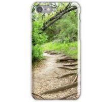 peaceful walk iPhone Case/Skin
