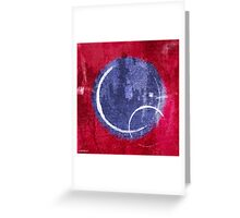 Textured Blue Moon Greeting Card