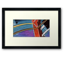 Construction I Framed Print