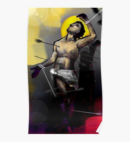 Saint Sebastian Martyrdom I Poster