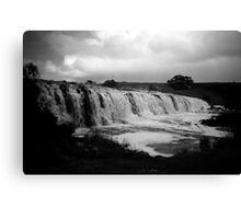 hopkins falls - warrnambool, victoria, australia Canvas Print