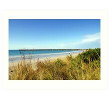 breakwater - warrnambool, victoria, australia Art Print