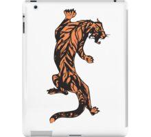 Climbing Tiger-Color iPad Case/Skin