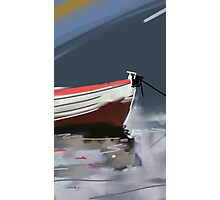 Fishermans boat deconstruction Photographic Print