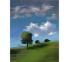 Highspeed landscape I Photographic Print