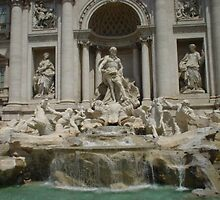 TREVI FOUNTAIN by Lara Bianco