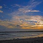 Sunset Over Penzance, Cornwall by Rod Johnson