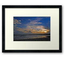 Sunset Over Penzance, Cornwall Framed Print