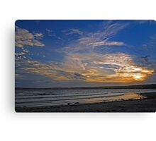 Sunset Over Penzance, Cornwall Canvas Print